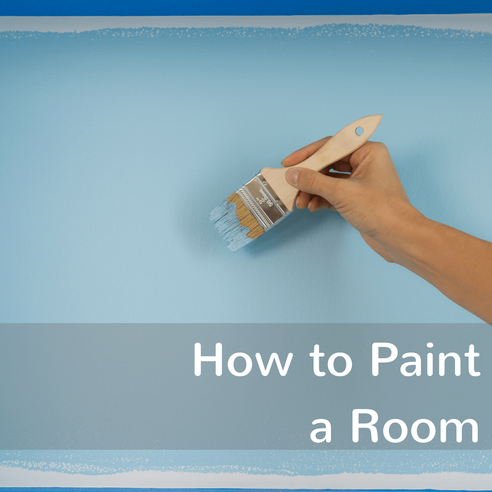 Learn tips on how to paint a room