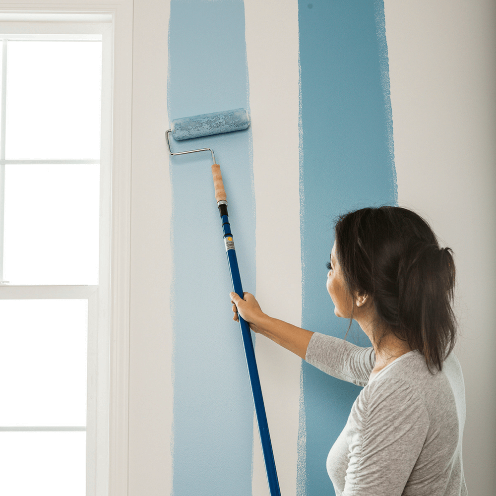 learn how to paint a room
